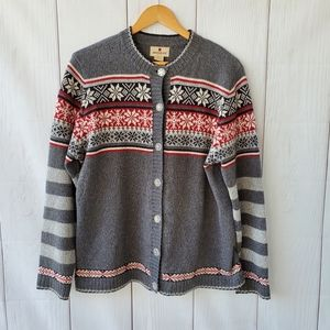 Vintage Woolrich gray sweater